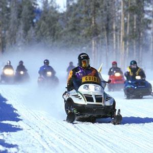 Client Incentive Programs Ideas Travel Snowmobiling Wyoming